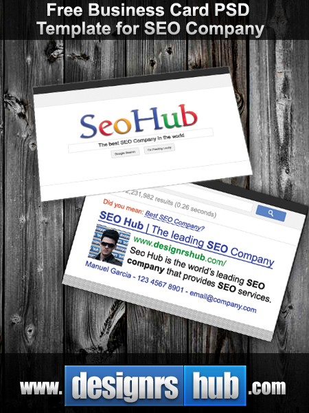 Free SEO Business Card Design