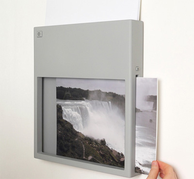 Wall-Mounted Wireless Printer