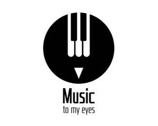 Music to my Eyes Logo Design