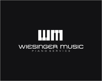 Wiesinger Music Logo Design