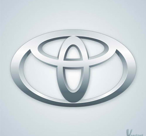 Photoshop Tutorial: Create the Toyota Logo