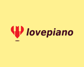 Love Piano Logo