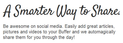 Social Media Management Tools: Buffer