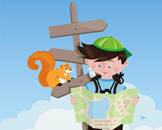 Create A Cartoon Children's Vector Illustration