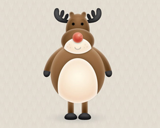 Create a Vector Reindeer Character in Illustrator