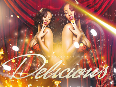 Free Flyer Templates - GRDELICIOUS Flyer PSD
