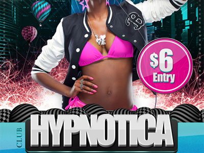 Free Hypnotica Club Flyer Template