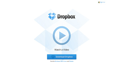 Dropbox Cloud Application