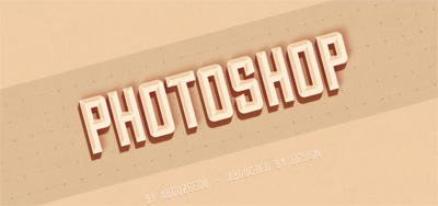Hipster Text Effect in Photoshop CS6