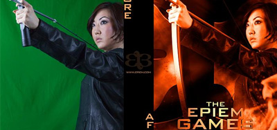 The Hunger Games Poster Composite Using Photoshop CS6 with Tutorial