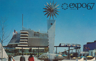 Pavilion of France at Expo '67 - Montreal, Quebec