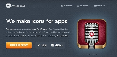Textures in Web Design: iPhone Icon Design