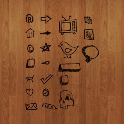 Hand Drawn Vector Icons