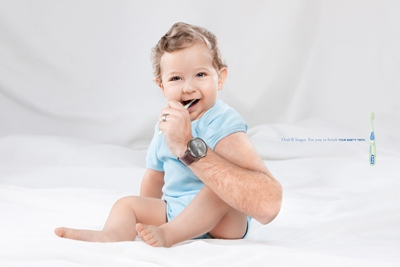 Oral-B Stages: Babies Advertisement Design