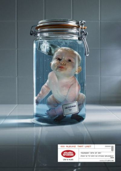 Studio Brussel: Nevermind '91 Advertising Campaign