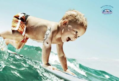 18 Creative Advertising Campaigns Featuring Cute Babies