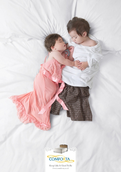 Comforta: Baby Couple Advertising Campaign