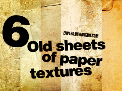Free Texture Packs: Collection of Old Paper Textures