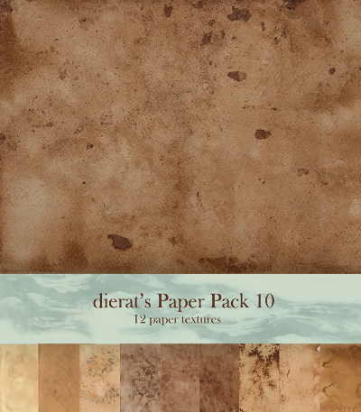 Old Paper Texture Pack