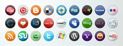 Integrate All Social Media Buttons