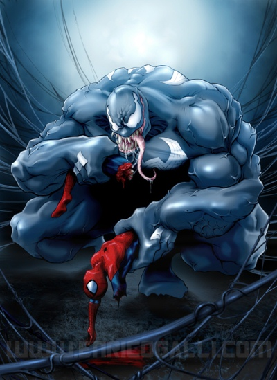 Venom vs Spiderman