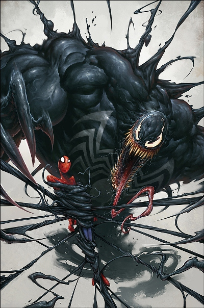 Venom vs. Spiderman - Fan art