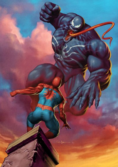Spiderman vs Venom - Updated