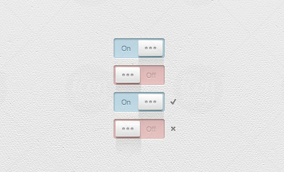 Light GUI Switches PSD