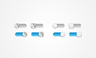 Slick On/Off Switch Free PSD File