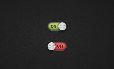 15 Free On/Off Switches and Toggles PSD Templates