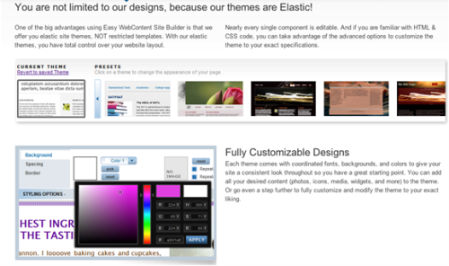 Easy WebContent - Website Builder