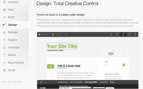 Squarespace - Build a Website - Create a Blog
