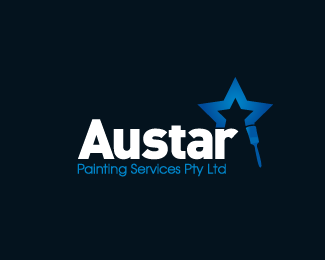Austar Painting Star Logo