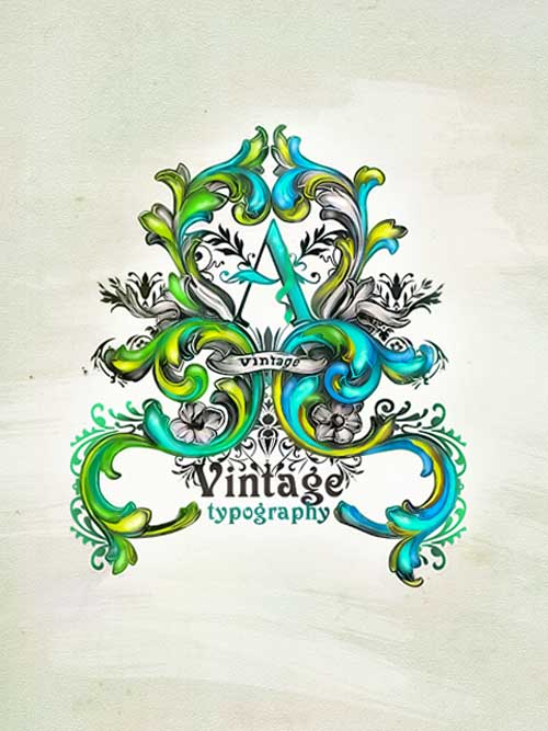 Inspirational Designs: Vintage Typography