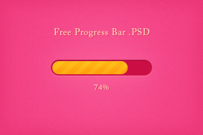 Free Progress Bar .PSD
