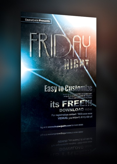 Download Free Friday Night Flyer/Poster