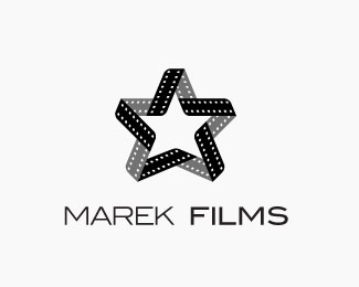 Marek Films Logo Design