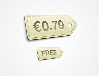 Pretty Little Free Price Tag