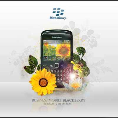 Mobile Advertisements: Blackberry Curve 8520