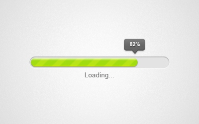 Progress Bar – PSD Freebie