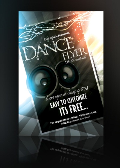 Download Free Dance Flyer/Poster Template