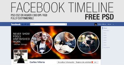 Facebook Timeline Cover (Free PSD)