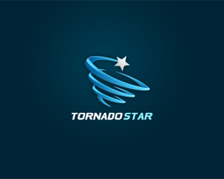 Tornado Star Logo Design