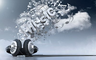 3D Typography Design: Music
