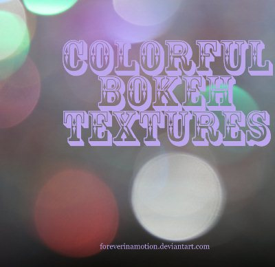 Colorful Bokeh Pack