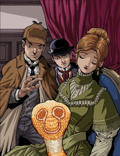 sherlock holmes and the speckled band essay Moving on from the introductions of the books, i will now look at the book endings 'the speckled band' is lacklustre, quite frankly the solution of the case is revealed in the ending, which means that we don't have any kind.
