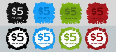 Free Price Tags/Buttons PSD