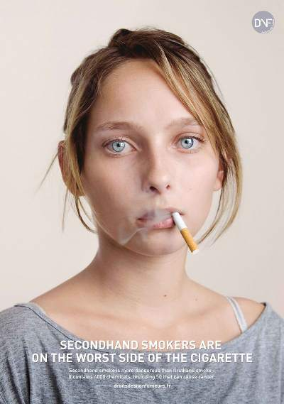 Secondhand Smokers are on the worst side of the Cigarette