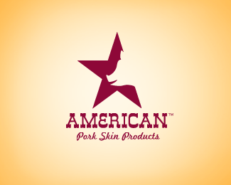 American Pork Skin Products Logo Design