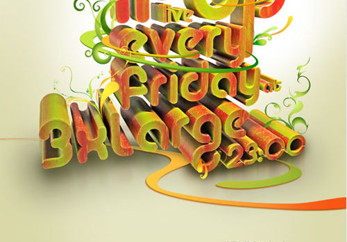 15 Inspirational Designs of Typography for Posters